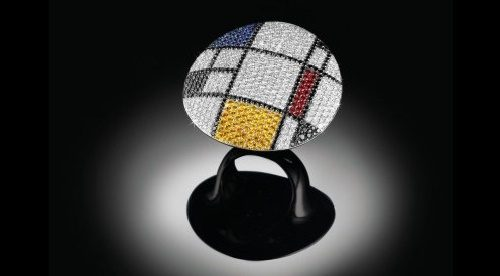Beautiful ring 'Kandinsky'