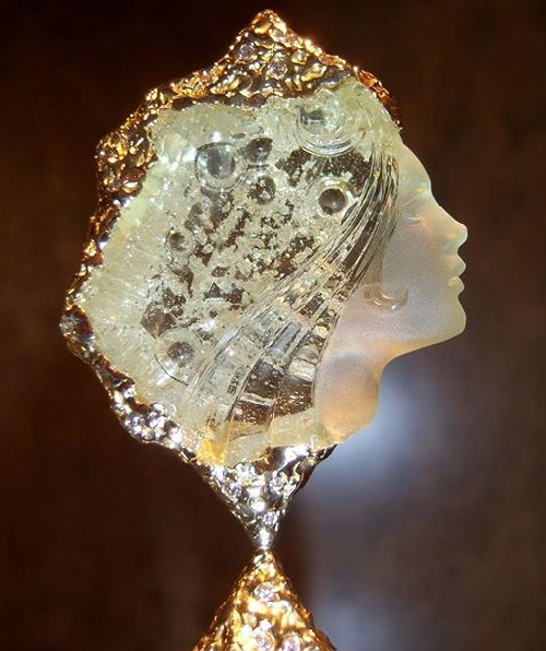 German Stone Carver Michael Peuster Kaleidoscope Effect