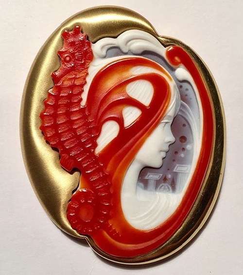 Cameo of agate