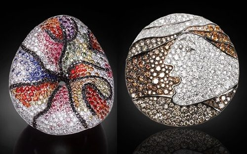 Painting in jewellery art