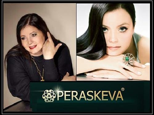 Russian Jewellery brand Peraskeva. Jewelry designer Larisa Galeeva and her sister Julia