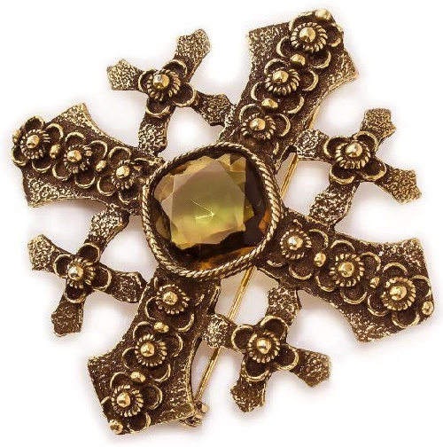 1950s Maltese cross
