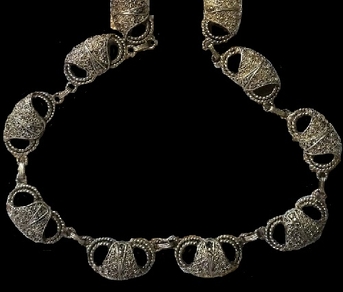 necklace Theodor Fahrner in Art Nouveau style, Germany, 1930s