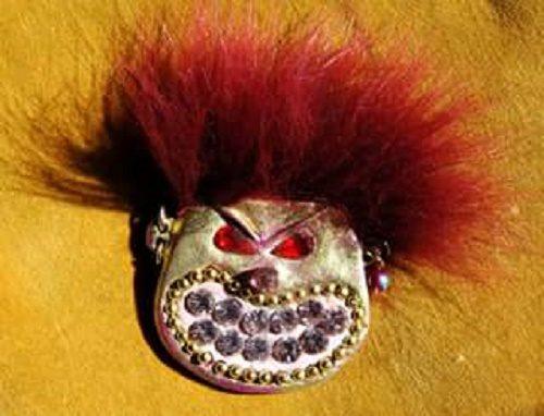 Cookie Monster Brooch, BillyBoy. Surreal Bijoux 1985