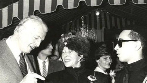 Hubert de Givenchy, Bettina Graziani and BillyBoy, Paris 1983