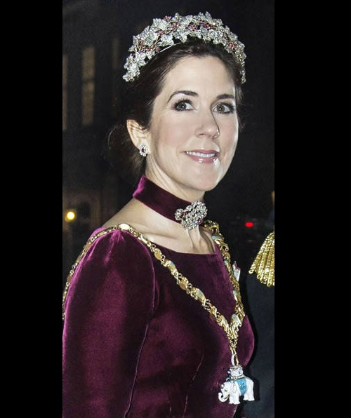 Royal people do not change traditions - the crown princess of Denmark Mary. 2014