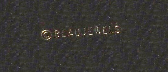 Signed Beau Jewels