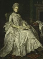 Sir Nathaniel Dance-Holland. Portrait of Mary Walpole, Duchess of Gloucester. 1766-69