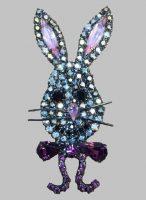 Easter Bunny brooch
