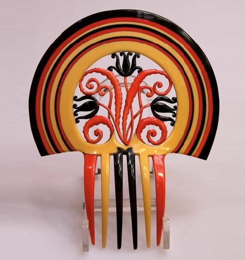 Auguste Bonaz Vintage Bakelite jewellery