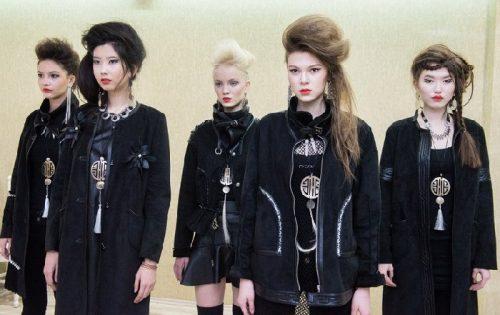 Designer Shide Naidanova creates images of modern Buryat
