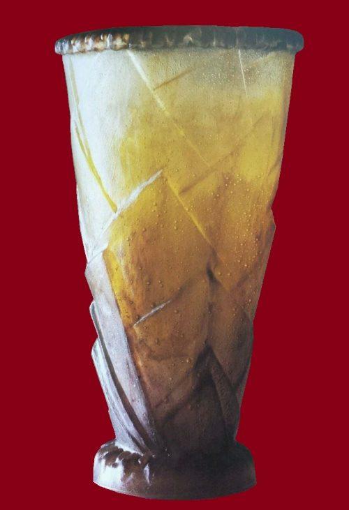 Modern foliage vase