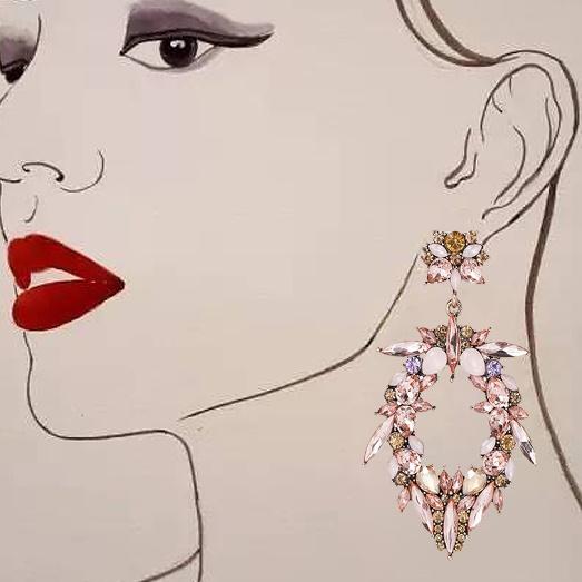 2017 Crystal earrings