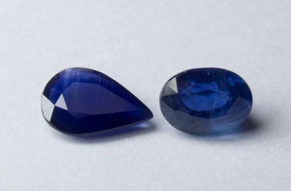 Blue sapphire Mozambique