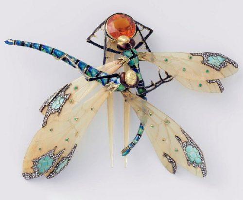 Art Nouveau style jeweler Lucien Gaillard