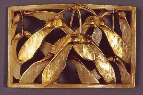 Exquisite Buckle (brooch) - wings of an insect
