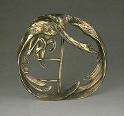 Swan - exquisite belt buckle