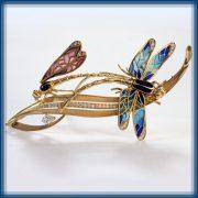 The Whirlpool. Gold, diamonds, emerald