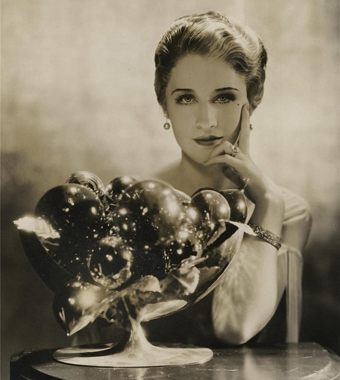 Canadian-American actress Norma Shearer