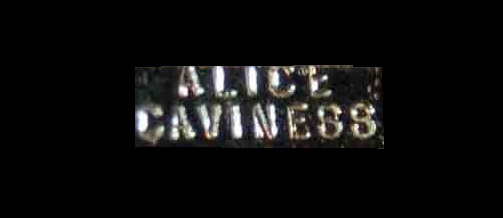 Label - Alice Caviness