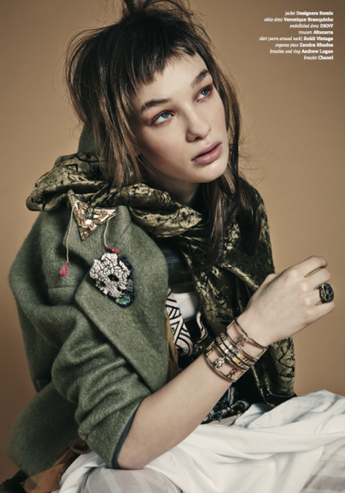 Hunger Magazine, Issue 8 featuring Andrew Logan jewellery
