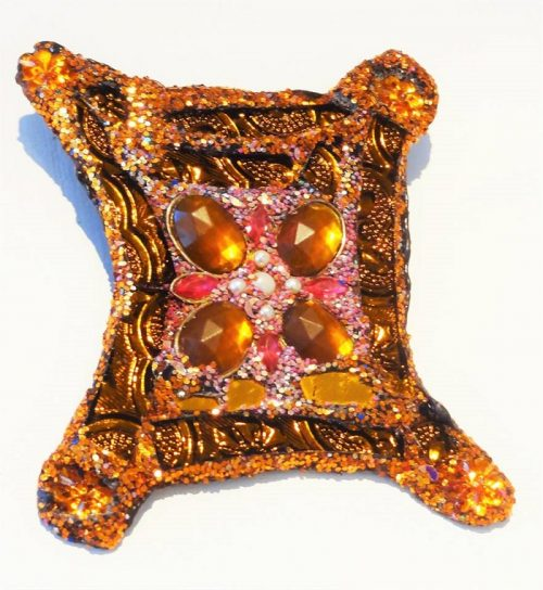 Stunning multicolored mirror glass jewellery