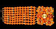 Bracelet - Tangerine tango