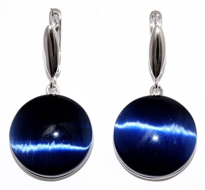 Chatoyancy earrings