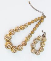 Demi Parure Necklace & Bracelet Set