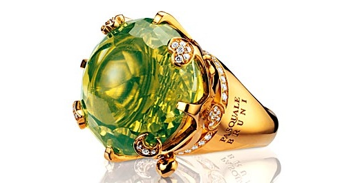 Pasquale Bruni ring from the collection Sissi