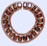 Choker-necklace, vintage 1940s