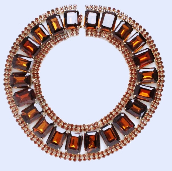 Choker-necklace, vintage 1940s