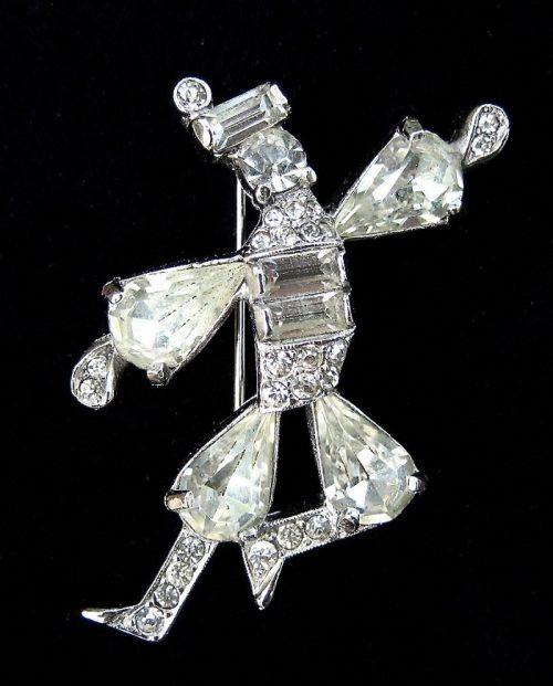 Cossack Dancer brooch