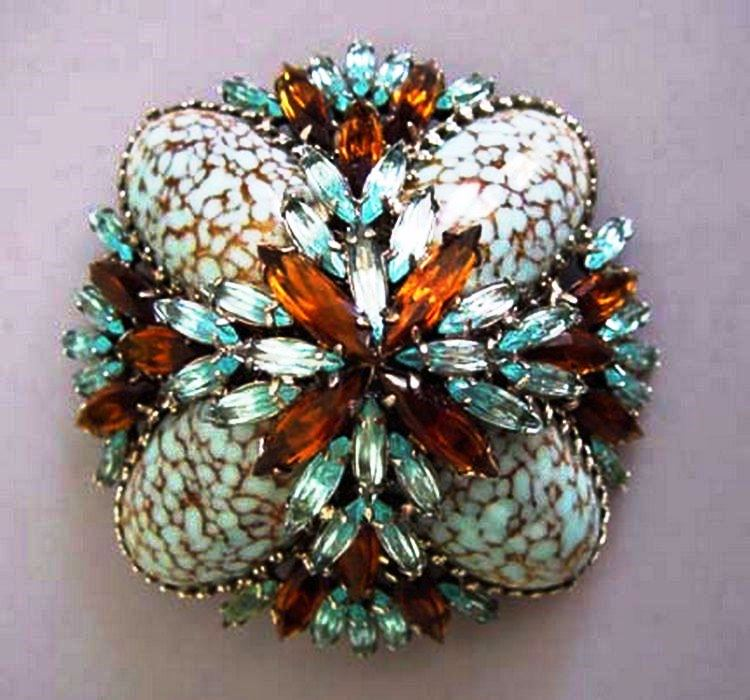 Exquisite Schreiner brooch