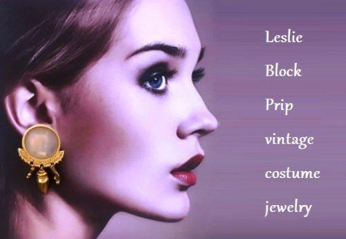 Leslie Block Prip vintage costume jewelry