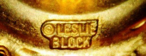Signed Leslie Block