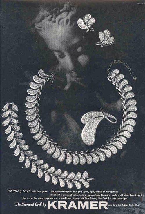 The Diamond look by Kramer, vintage ads