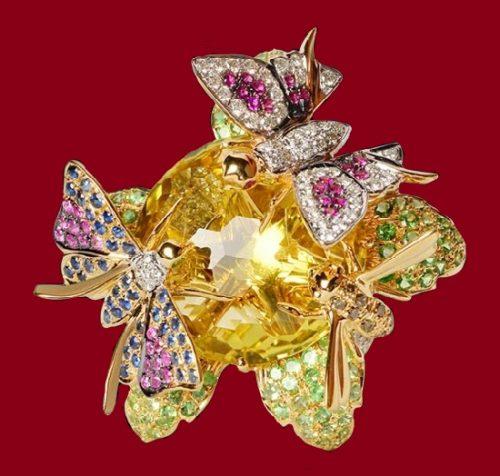 Farah Khan jewelry kaleidoscope