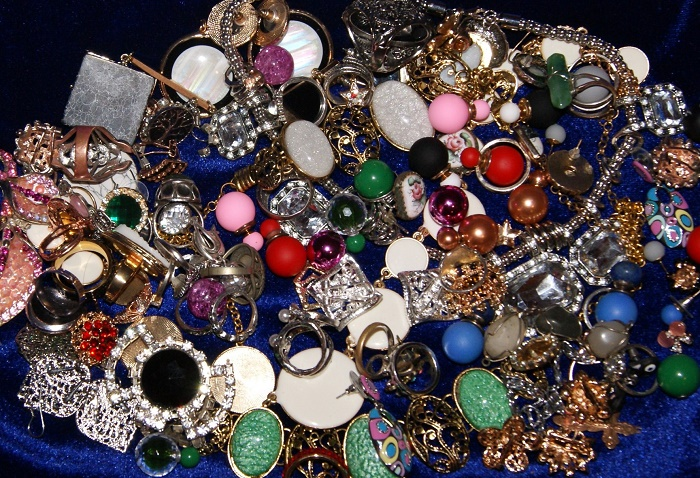 Rings and necklaces
