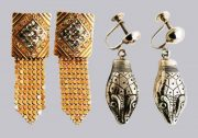 Whiting and Davis vintage costume jewelry