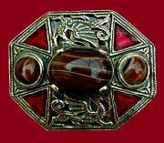 Welsh Dragons vintage brooch
