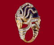 Amethyst & Tsavorite Ring