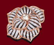 Gorgeous Diamond & Rose Cut Pendant