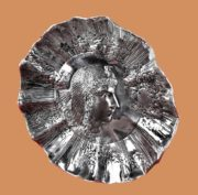 Cleopatra silver decorative plate