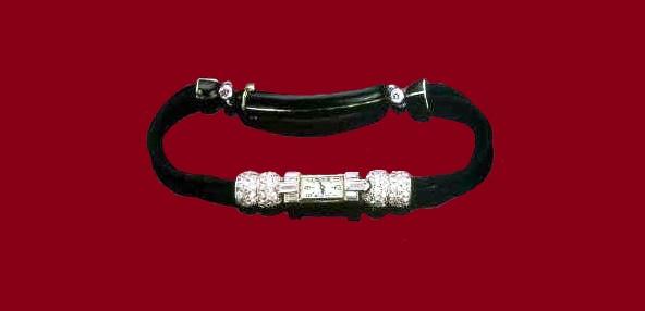 Diamond wrist watch. 1920-1925