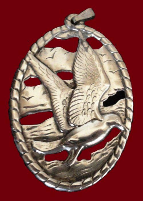 Seagull pendant