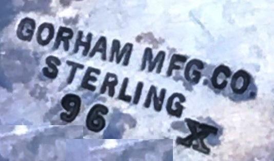 Signed Gorham MFG Co Sterling