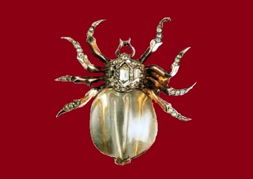 Spider brooch from the collection of Jelly Belly £ 600-650 TR