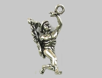 Sterling silver fairy-tale charm