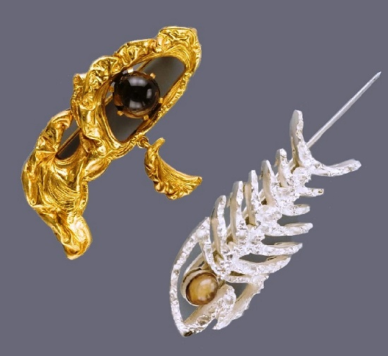 Work by Russian jeweler Vladimir Dmitrievich Hahalkin